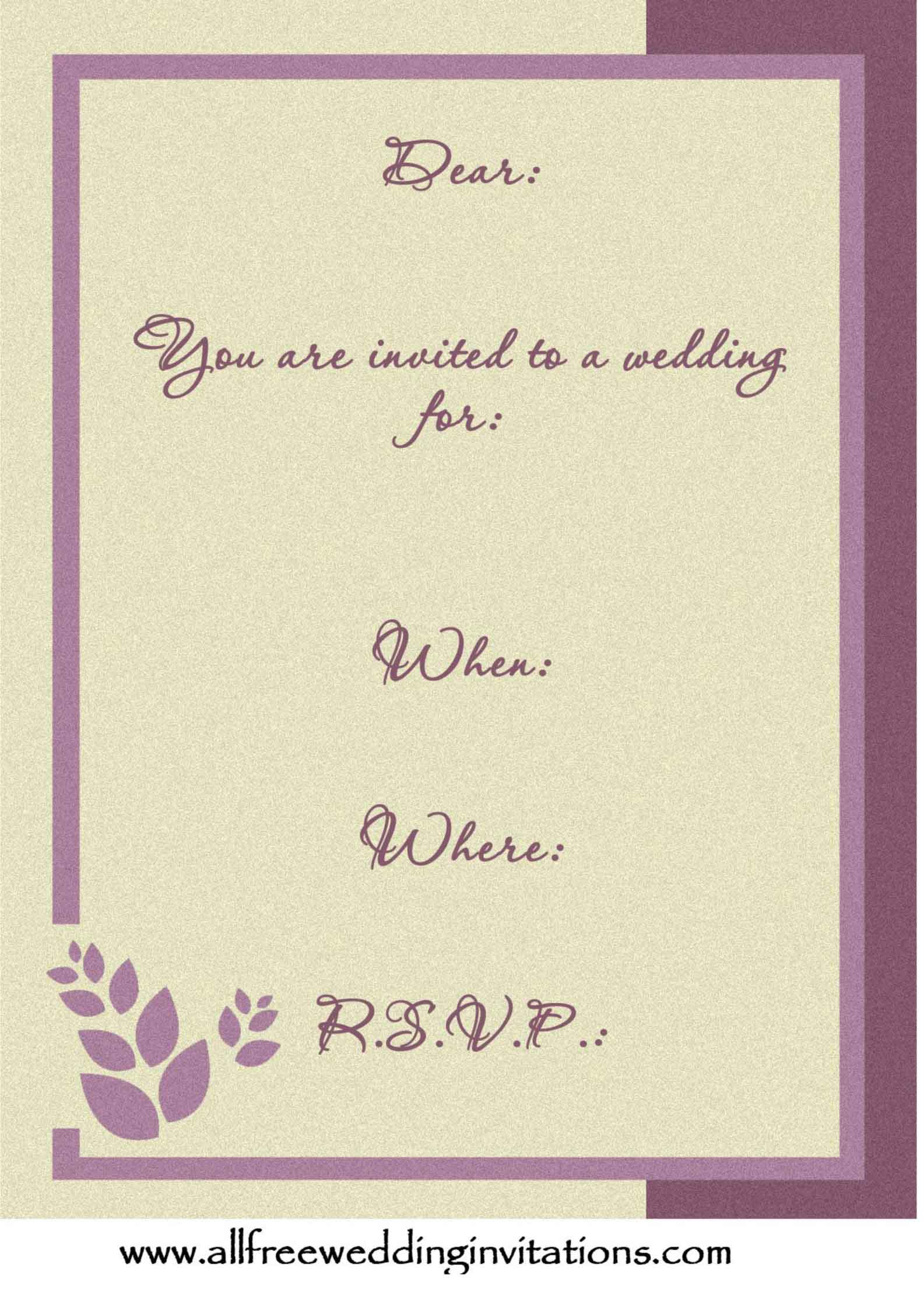 pastel wedding invitations