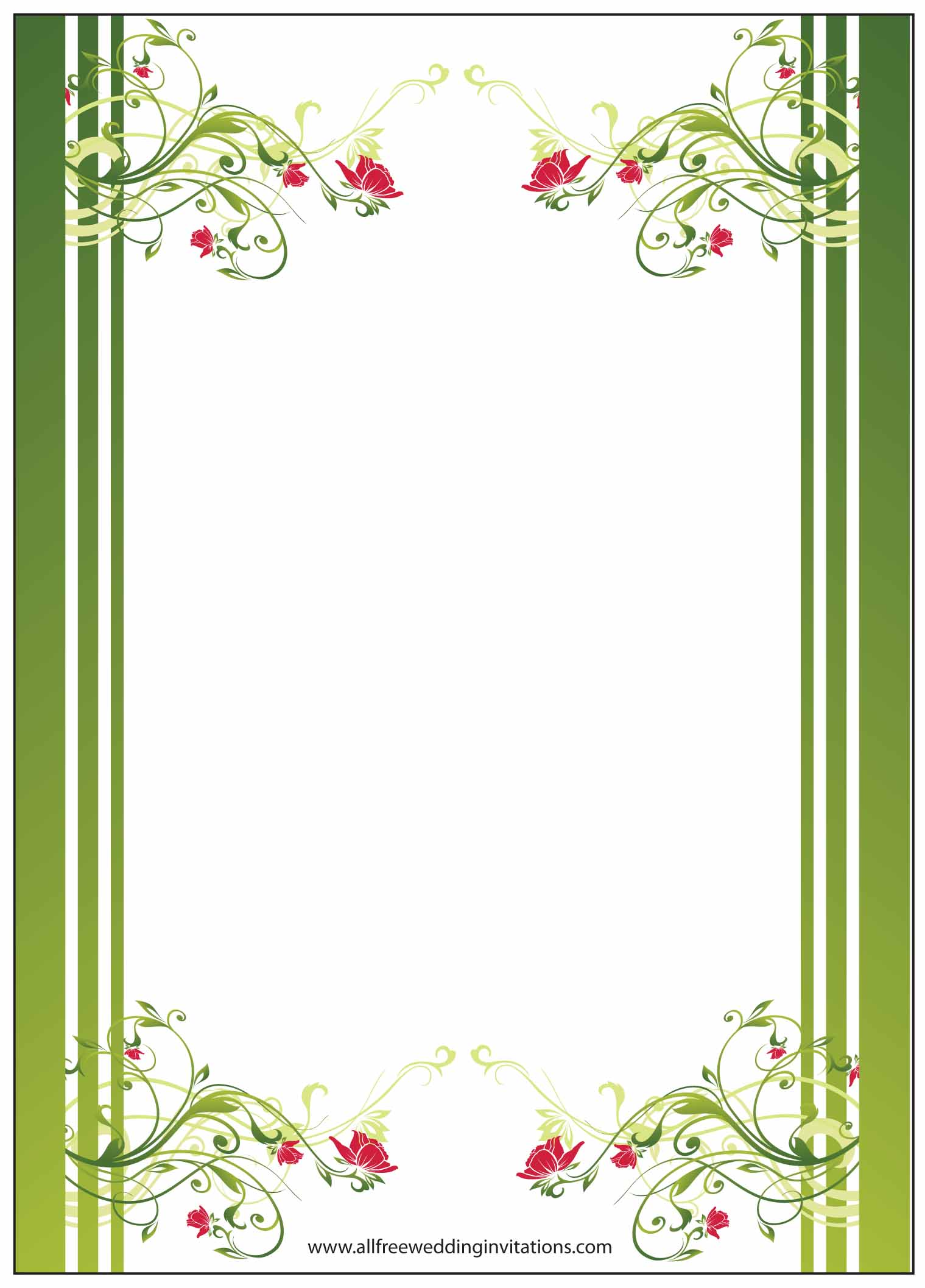 Free Wedding Borders For Invitations Mini Bridal