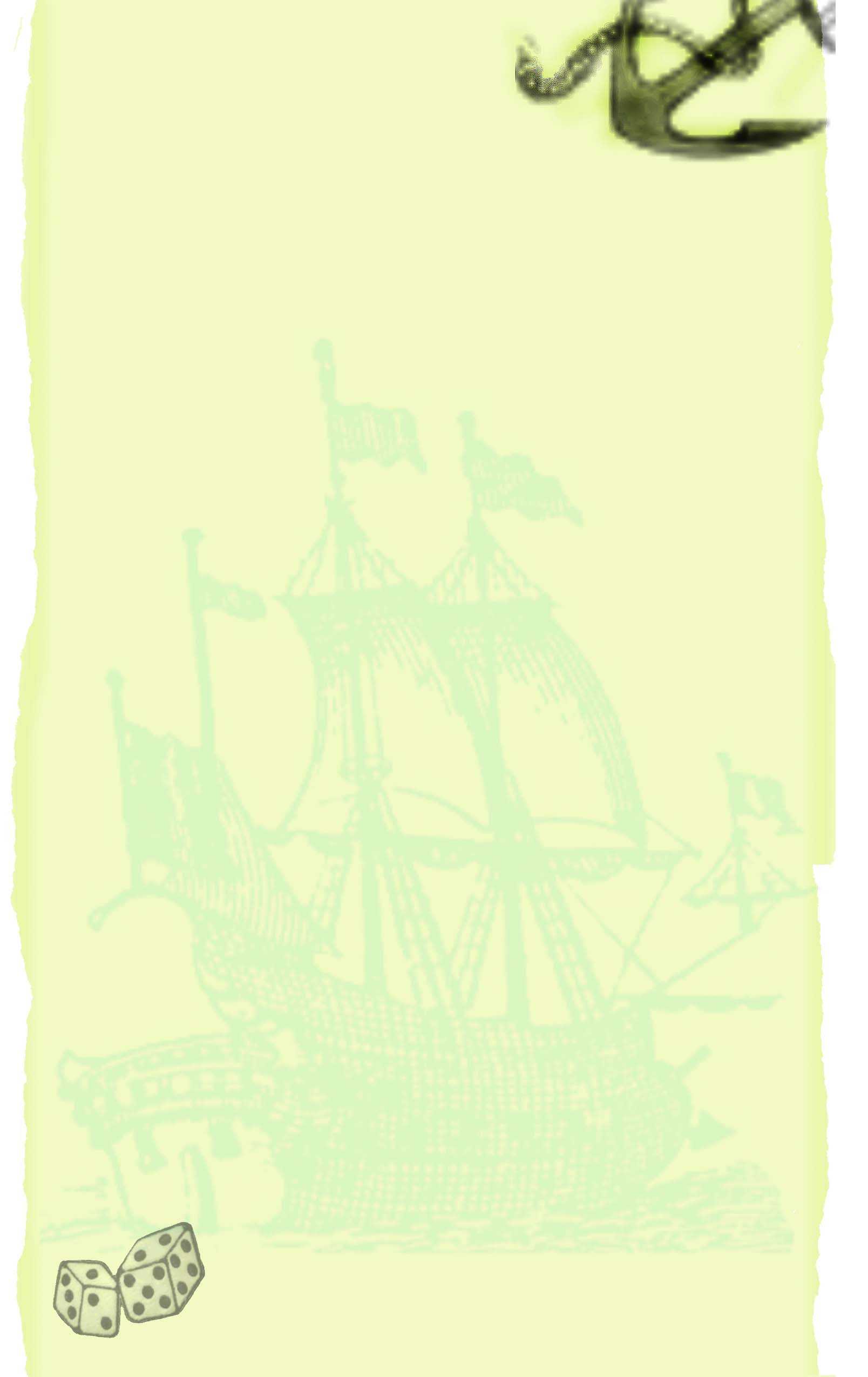 green nautical wedding invitation